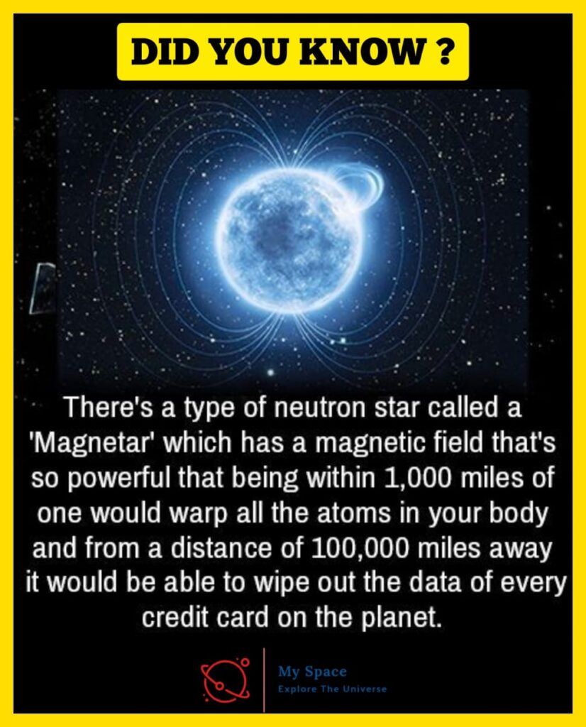 Magnetar, the Most Magnetic Stars In the Universe - My Space