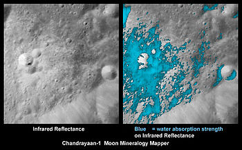 where might water be found on the moon